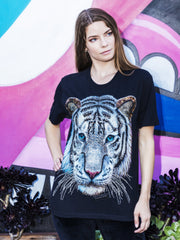 Frost Tiger Beaded Glow Shirt
