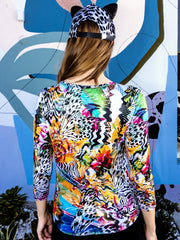Psychedelic Butterfly Long Sleeve Shirt