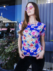 Roses Short Sleeve Shirt