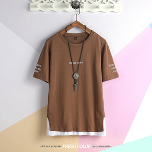 Brand Clothing spring Men design Tshirt short Sleeve Camouflage T-shirt  masculina tshirt Military broken T shirt