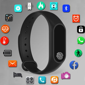 SPORT BRACELET SMART WATCH WOMEN MEN FOR ANDROID IOS