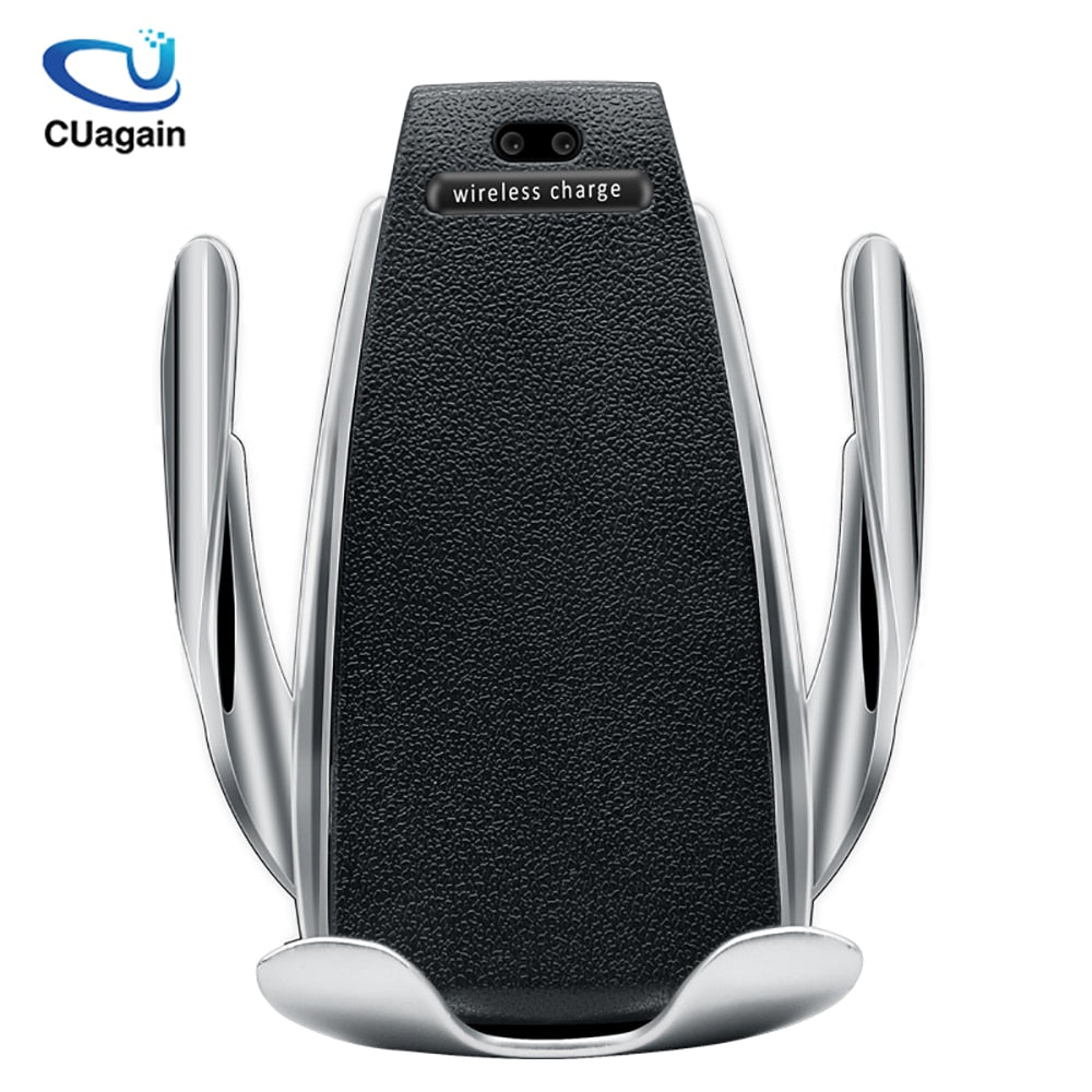 10W Wireless Car Charger S5 Automatic Clamping Fast Charging in Car for iPhone,Huawei,Samsung