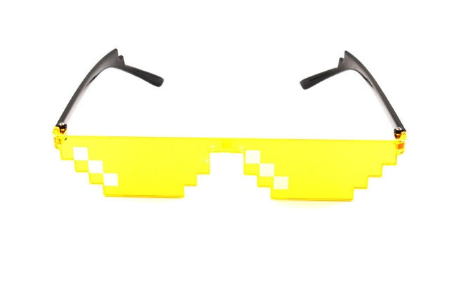 IT Mosaic Sensation Star Love Pixel Glasses Cosplay Accessories Adult Children Sun Glasses