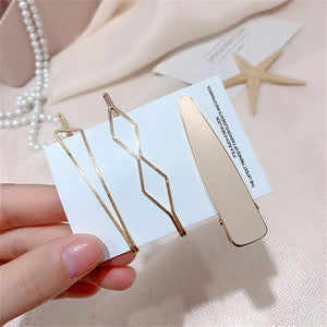 3pcs / set Metal Hair Clips Women pearl Hairpin Girls Hairpins Pin Bobby Pin Hairpin Hair Accessories Drop ship New Arrival