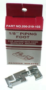 Janome Serger Overlock 1/8 inch Piping Foot