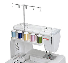 Load image into Gallery viewer, Janome 5 Spool Embroidery Thread Stand