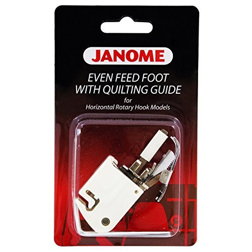 Janome Convertible Even Feed Foot Set for 9mm Non Acufeed Models