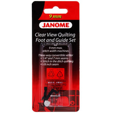 Load image into Gallery viewer, Janome Clear View Quilting Foot For 9mm Machines