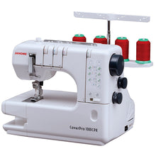 Load image into Gallery viewer, Janome Cover Pro 1000CPX Coverstitch Machine with Exclusive Bonus Bundle