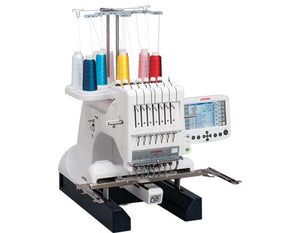 Janome mb-7 Embroidery Sewing Machine with Seven Needles - sewvac