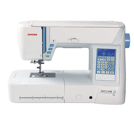 Janome Skyline S5 Computerized Sewing Machine Waldorf by Sewvac