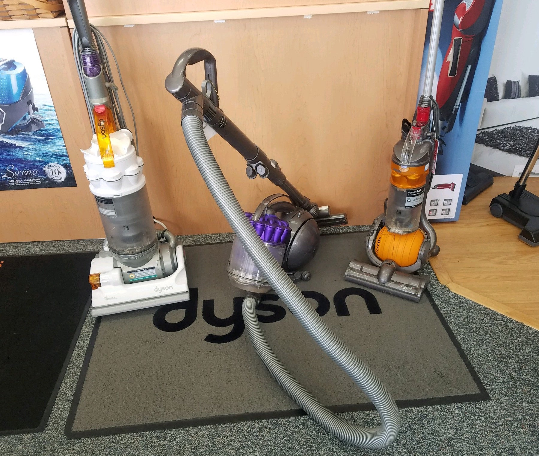 dyson vacuum cleaner sew n vac