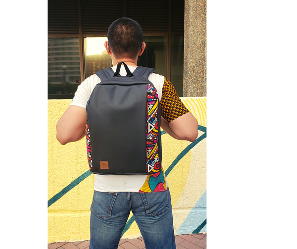 Taoo Backpack: Geoblue