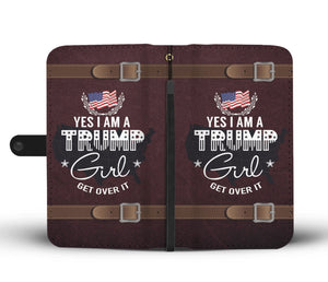 Trump Girl Wallet Case