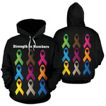 Strength In Numbers All Over Hoodie