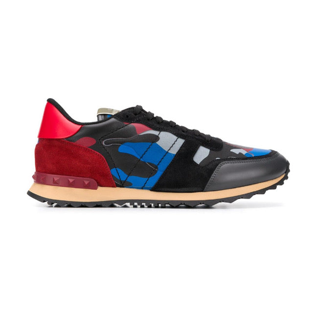 Valentino Rockrunner Triple Red Camo