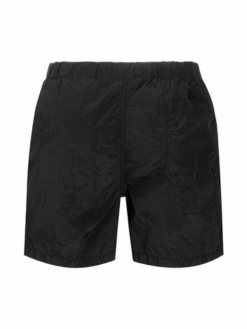 Stone Island Logo Patch Swimshorts 'Black'