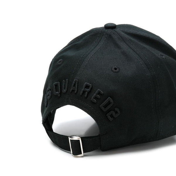 Dsquared2 ICON 'Triple Black' Cap