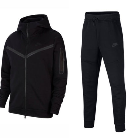 Nike Tech Fleece Tracksuit 'Black'