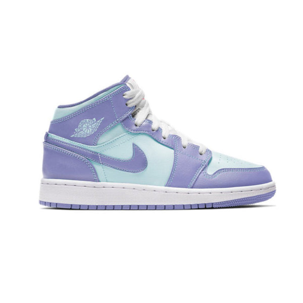 Nike Air Jordan 1 Mid 'Aqua' (GS)