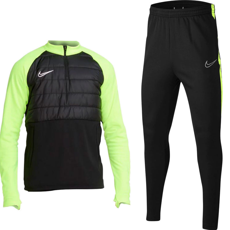 Nike Tech Training Set 'Black & Volt'