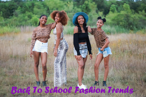 Back To School Fashion Trends 2019