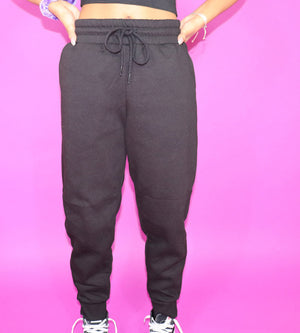 The Flex Sweatpants-Black
