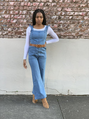 Diva Denim Jumpsuit