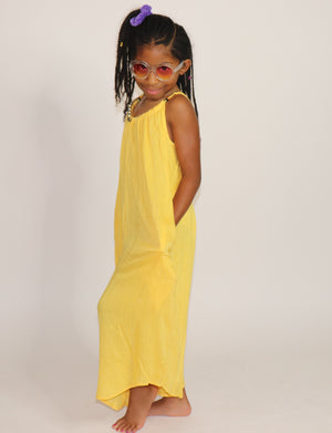 "Gaucho Jumpsuit ""Yellow"""