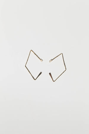 accessories, earrings, gold triangle shaped, trendy, cute girls, teenagers, teens