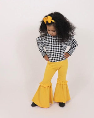 The Bella Pants-Mustard