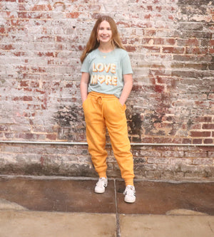 The Flex Sweatpants-Ash Mustard