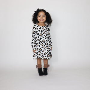 "Sassy Swing Dress ""Leopard"""