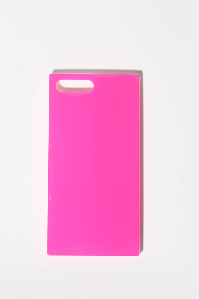 Neon Pink Phone Case (iPhone 8 Plus/7 Plus)
