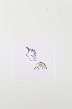 phone charms unicorn and rainbow