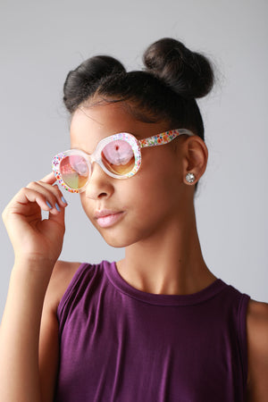 translucent, stylish, girls, kids, sunglasses, shades, trendy, chic, cute for tweens