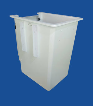 "Buckets - ETI - 24"" x 30"" x 42"" - Door Left - 9.25"" Steel Ribs - Bucket Truck Parts"