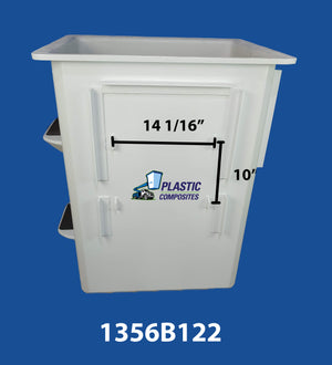 "Buckets - Hi Ranger - 5H - 24"" x 30"" x 42"" - Steps Left, Controls Right - Bucket Truck Parts"