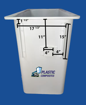 "Buckets - Hi Ranger - 5F - 24"" x 30"" x 42"" - Bucket Truck Parts"