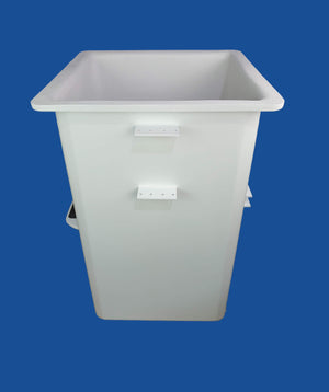 "Buckets - TECO - 24"" x 24"" x 42"" - (Non Dump) Step Left - Controls Front - Bucket Truck Parts"