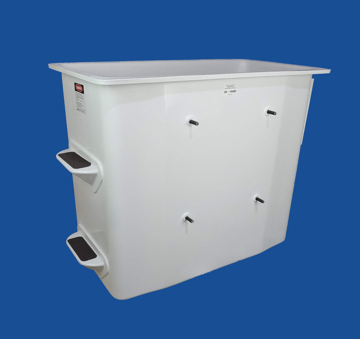 "Buckets - Hi Ranger - 24"" x 48"" x 42"" - Standard Controls Right - Bucket Truck Parts"