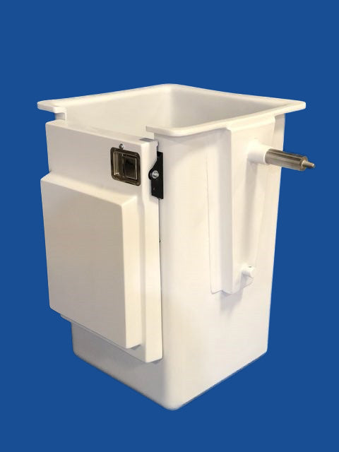 "Buckets - Telsta - 24"" x 24"" x 42"" - Door Left - TELS-2 Shaft - Bucket Truck Parts"