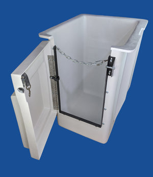 "Buckets - Versalift - 24"" x 30"" x 42"" - 15"" x 7.75"" Controls Right - Door Left - Bucket Truck Parts"