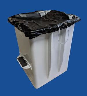 "Bucket Cover - 28"" X 31"" - Heavy Duty Vinyl - Plastic Composites Co"