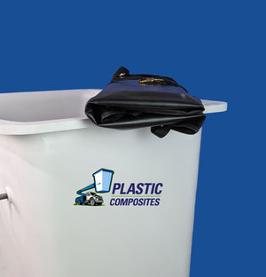 "Bucket Cover - 24"" X 30"" - Folding Hard Top - Bucket Truck Parts"
