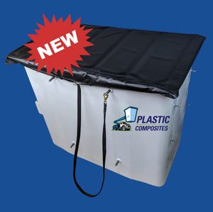 "Bucket Cover - 24"" X 48"" - Folding Hard Top"