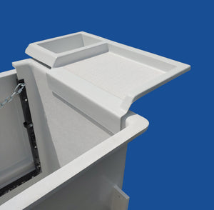 Work Shelf & Tool Tray - Bucket Mounted - Bucket Truck Parts