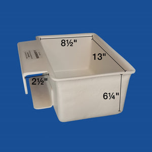Tool Tray - Small - Fiberglass - Outside Mount - Plastic Composites Co