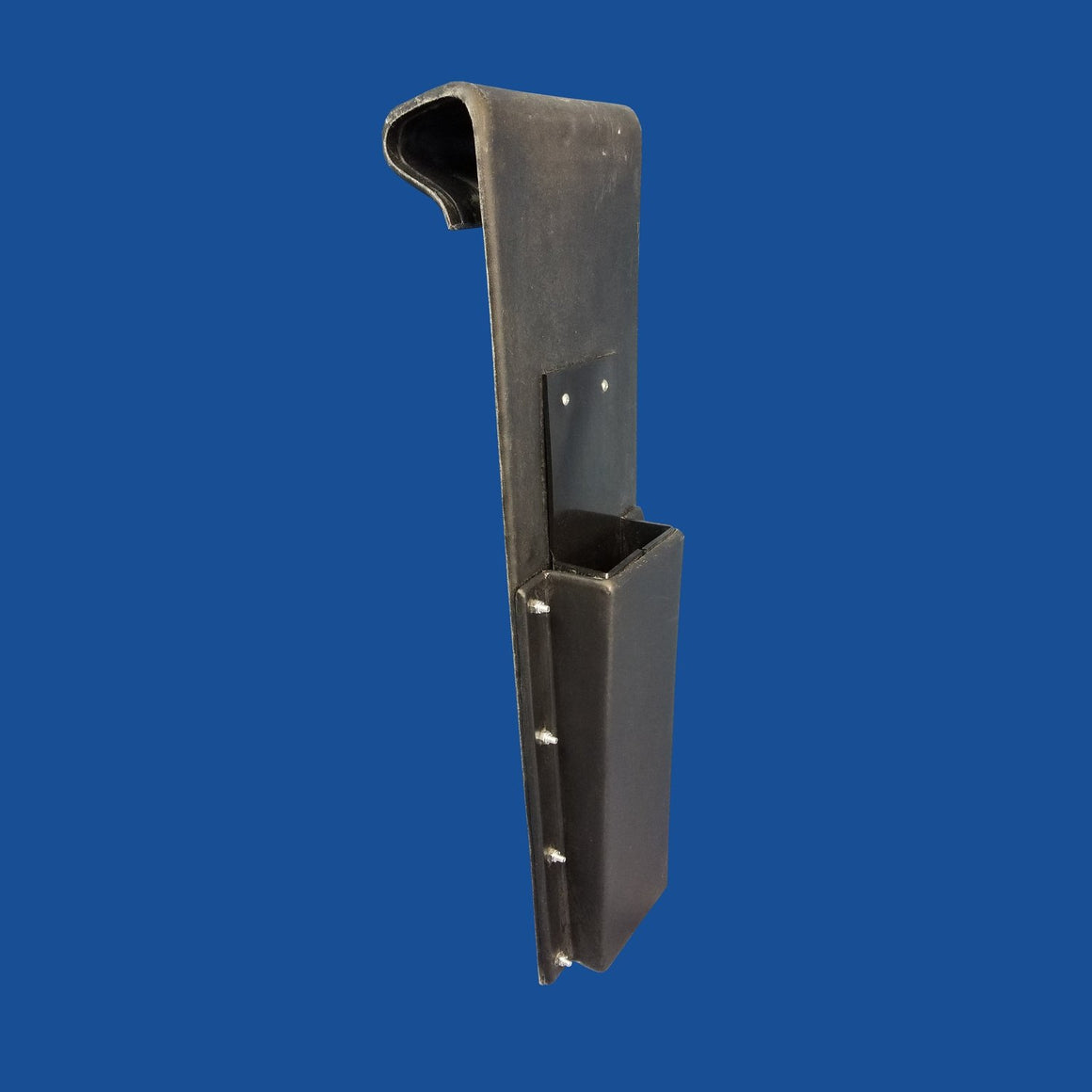 Chainsaw Scabbard - Plastic - Bucket Mounted (Inside Mount Only) (Lined)
