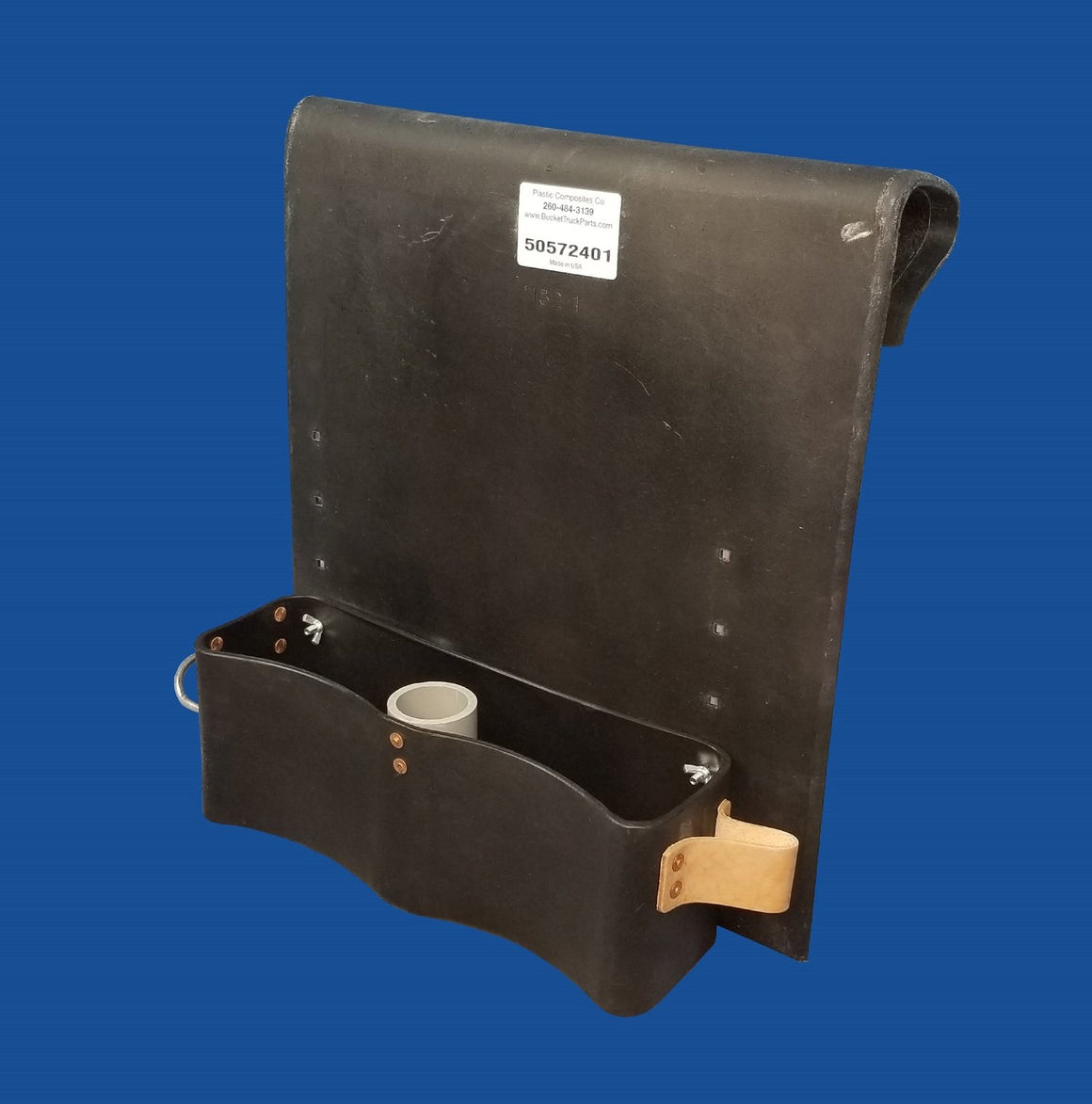 Thigh Brace Tool Tray - Blank on Top - Bucket Truck Parts